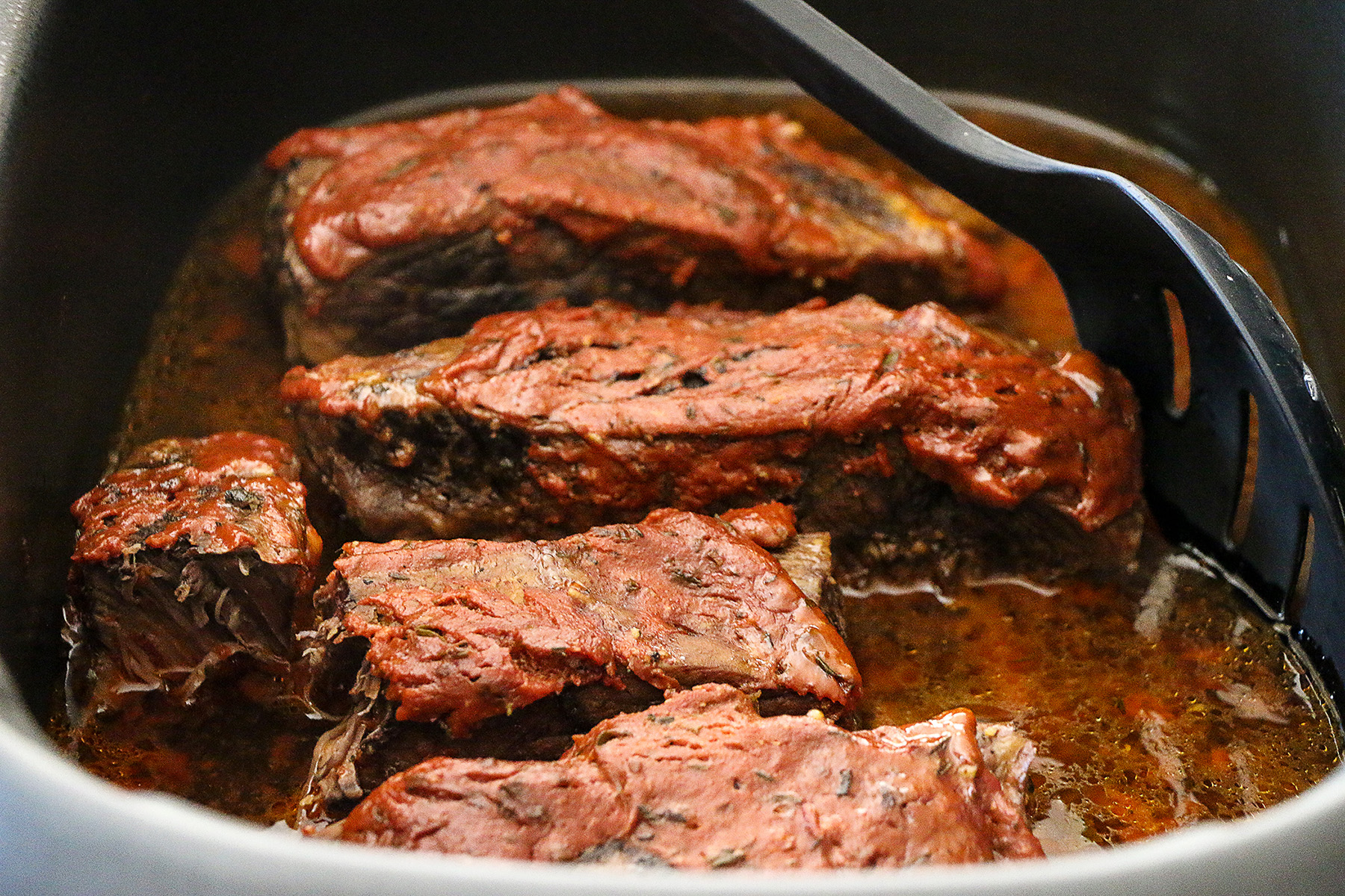 How to make bbq short ribs in the crock pot