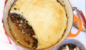 Low Carb Shepherd's Pie with Cauliflower Mash
