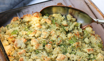 Low Carb Thanksgiving Stuffing