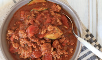Pittsburgh Turkey Chili