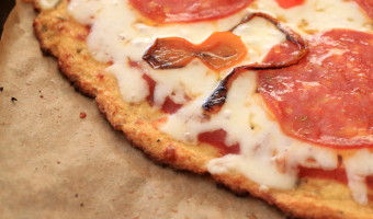 The Ultimate Cauliflower Pizza Crust
