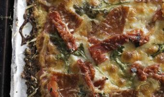 The Ultimate Cauliflower Pizza Crust