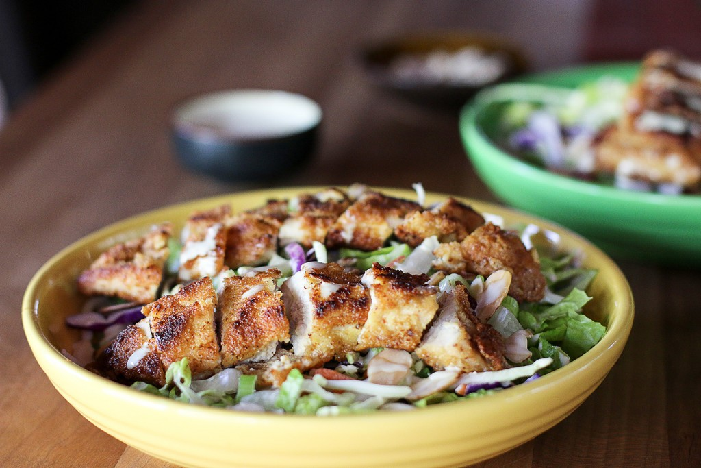 Asian Fried Chicken Salad