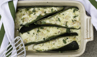 Stuffed Pasilla Peppers (or Poblano Peppers)