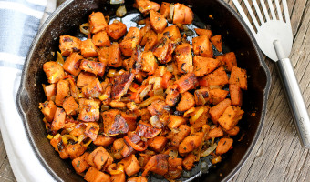Rosemary Sweet Potato Hash