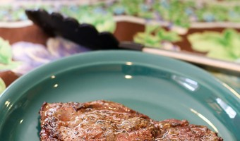 Dairy Free Steak Au Poivre