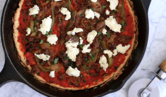 The Ultimate Low Carb Pizza Crust
