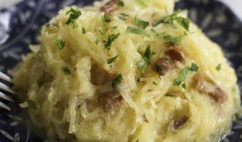 Spaghetti Squash Carbonara
