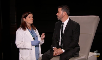 "Anna in ""What If Siri Was Your Doctor?"" on Jimmy Kimmel Live"