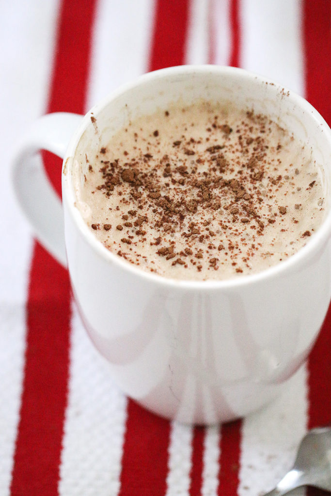 how to make a peppermint mocha latte at home
